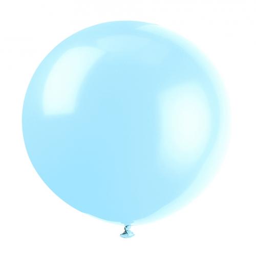 Blaðra - Risastór 91cm Helium Quality - Cool blá - 1stk