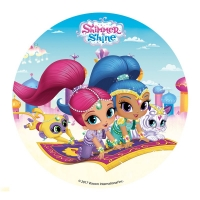 Edible Wafers - Shimmer and Shine 16cm image