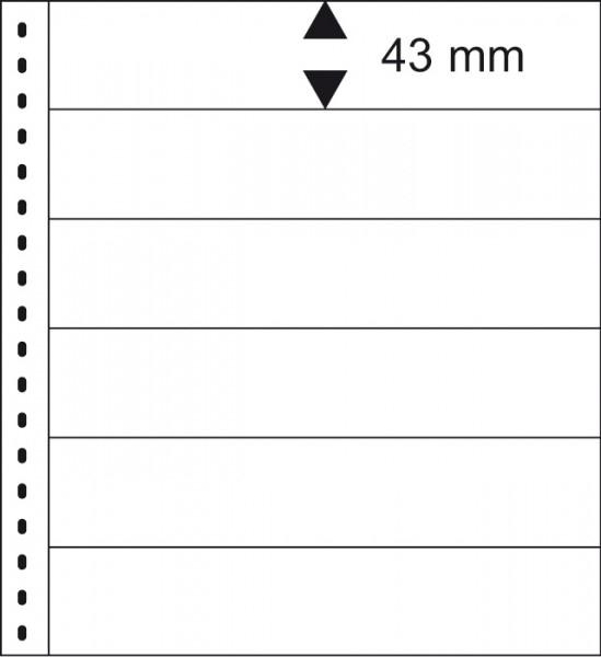 18 hringja - Omnia Blað - 6 Vasa - 10stk. - Lindner image