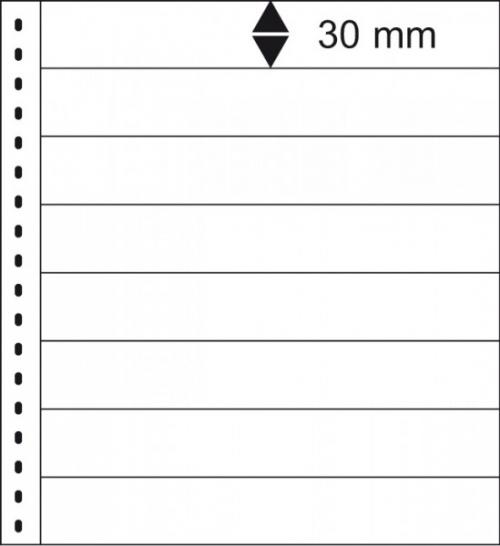 18 hringja - Omnia Blað - 8 Vasa - 10stk. - Lindner