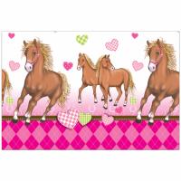 Plastdúkur - Horses - 120x180cm image
