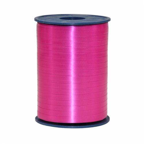 Krulluband - Hot Pink Bleikt 500m