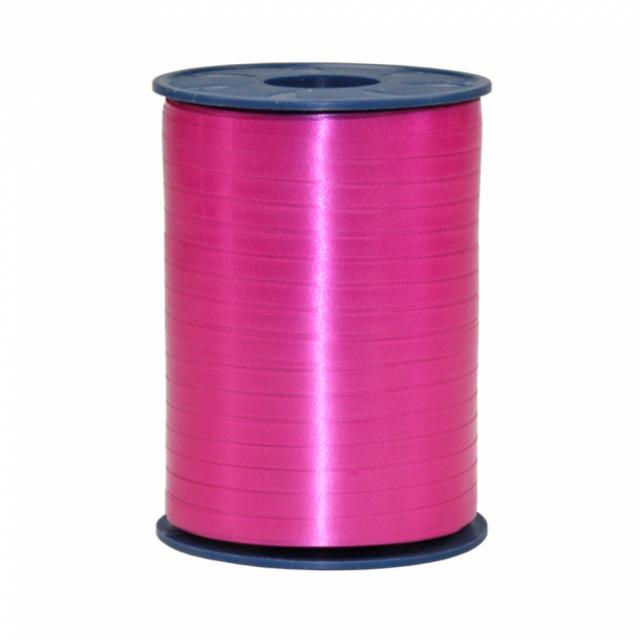 Krulluband - Hot Pink Bleikt 500m image