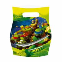 Partýpokar - Ninja Turtles - 6stk. image