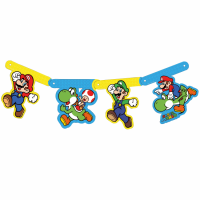 Fánalengja - Die-Cut Super Mario image