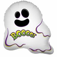 Álblaðra - Form ca 45cm - Funny Ghost Boooo! image