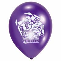 Blöðrur 25cm - Ninja Turtles blandaðir litir 6 stk image