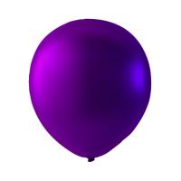 Blöðrur með perluáferð 30cm - Purple 100 stk image