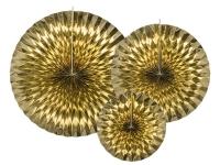 Blævængir - Gull - 23, 32 og 40cm - 3stk image