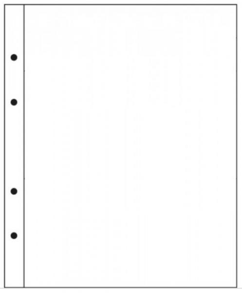 A4 Hlífðarplast 10 stk - Sýrufrítt