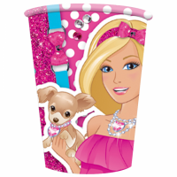 Pappaglös - Barbie - 266ml., 8stk. image