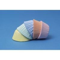 Muffinsmót (lítil) - Pastellitir 100 stk. image