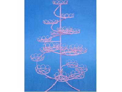 Cupcake standur - Bleikur fyrir 19 stk. image