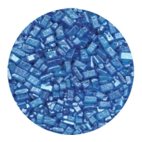 Kristalsykur með perluáferð - Blár image