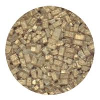 Kristalsykur með perluáferð - Gylltur image