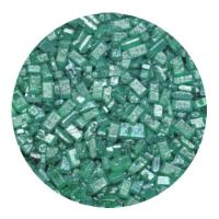 Kristalsykur með perluáferð - Grænn image