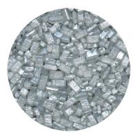 Kristalsykur með perluáferð - Silfur image