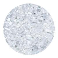 Kristalsykur með perluáferð - Hvítur image
