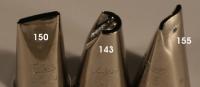Sprautustútur úr stáli - Nr. 150 image