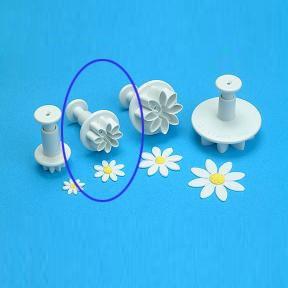 Daisymót með stimpli - 1,9cm image