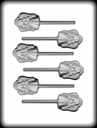 Hitaþolið sleikjóplastmót - Englar 5 cm image