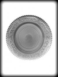 Hitaþolið plastmót - Skrautplatti 14 cm image