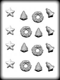 Hitaþolið plastmót - Jólabland 3,2 cm image