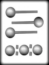 Hitaþolið sleikjóplastmót - Golfbolti 4,1 cm image