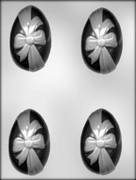 Plastmót - Páskaegg með borða 8,3 cm image