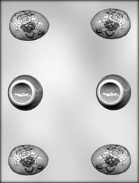 Plastmót - Páskaegg með standi 5,1 cm image