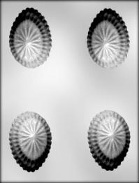 Plastmót - Páskaegg útskorið 7,9 cm image