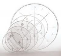 Kristalglær diskur frá Wilton - 23 cm image