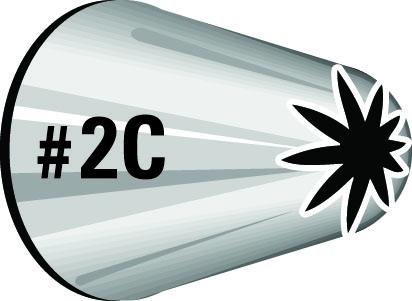 Sprautustútur - 2C frá Wilton