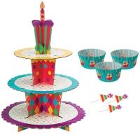 Cupcake standur og mót - Afmælisveisla image