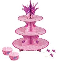 Cupcake standur og mót - Prinsessa image