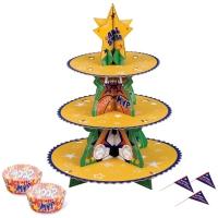 Cupcake standur og mót - Boltar image