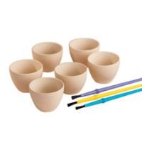 Litlar keramik skálar fyrir súkkulaði image