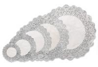 Kökublúndur 6 stk - Silfur 25 cm image