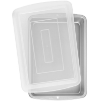 Ferkantað 33 x 23 cm - Recipe Right® bökunarmót með loki image