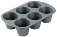 King size muffinspanna 6 hólf - Bökunarmót image