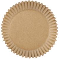 Muffinsmót (lítil) - Ljósbrún 100 stk. image