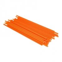 Sleikjóprik úr plasti - Endurnotanleg - Orange image