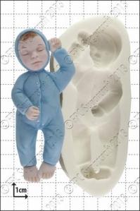 FPC silíkonmót - Sofandi barn image