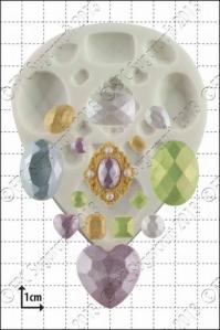 FPC silíkonmót - Gimsteinar image