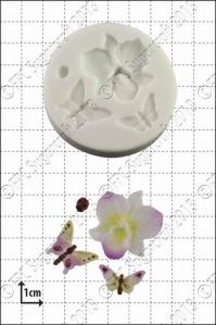 FPC silíkonmót - Orkídea og skordýr image