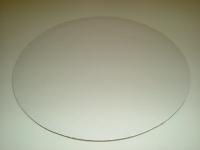 Kökuspjald - Hvítt kringlótt 20 cm image
