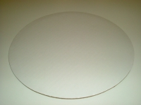 Kökuspjald - Hvítt kringlótt 30 cm image