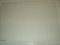 Kökuspjald - Hvítt ferkantað 42 x 62 cm image
