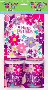 Partýpakki fyrir 8 - Birthday Blossom image