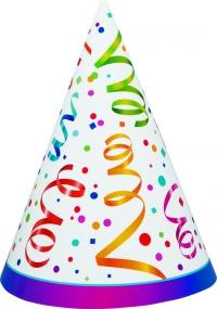 Afmælishattar - Celebrate Party 8 stk image